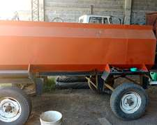 Acoplado Tanque 3000 Lts Con Boma Electrica