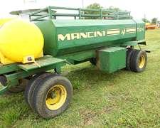 Acoplado Tanque Cisterna Combinado Con Bomba