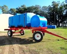 Acoplado Tanque Combinado Rotor 4.500 + 750 Litros