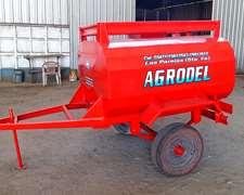 Acoplado Tanque De Combustible De 1500 Lts Marca Agrodel