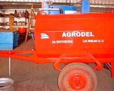 Acoplado Tanque De Combustible Marca Agrodel
