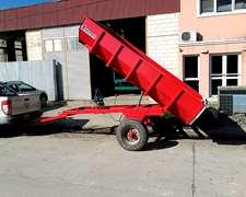 Acoplado Volcador / Cosecha De Uva/ Corralones 2 A 6 Tn