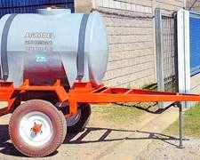 Acoplados Tanques Plasticos Marca Agrodel