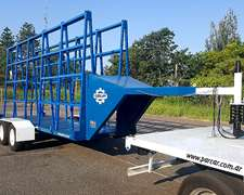 Carro De Transporte Para Placas De Vidrio Av800