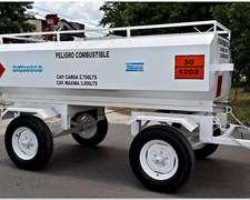 Cisterna Para 3.000 Lts De Capacidad
