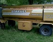 Tanque Combinado Giaroli. 8 Cuotas