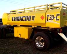 Tanque Combinado Mancini T 30 Cubiertas Duales.