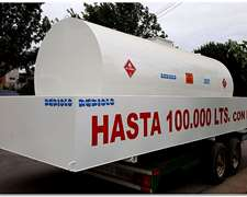 Tanque Estacionarios Con Batea Antiderrame Para 10.000 Lts