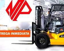 Autoelevador Liugong Diesel 2,5 Tn Financiación 10 Cheques
