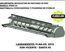 Recolector De Pasturas A Lona Modelo Atom 6.0 20 Pies