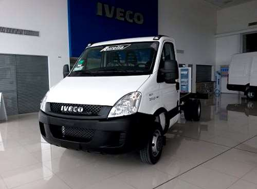 Cami n iveco daily chasis cabina sim o doble cab ecoline 0km agroads - Iveco daily chasis cabina ...