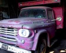 Camión Dodge 600 Diesel