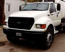 Camión Ford F-14000 Año 2000 Motor Cummins 160 Hp Sin Tanque