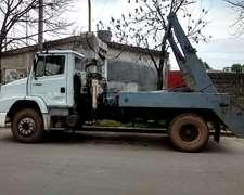Camión Mercedesd Benz 1620 L , C/ Eq Porta Volquete