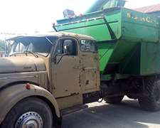 Camión Volvo 957 Con Motor 1518 Y Autodescargable