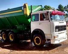 Camion Fiat 697 Autodescargable Con Balnza
