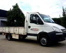 Camion Iveco Daily 5516 Año 2012 Con Caja No Permuta