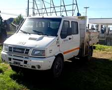 Camion Iveco Daily 7012 Cabina Doble Año 2006