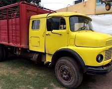 Camion Mercedes Benz 1114 Con Carroceria Jaula Fh