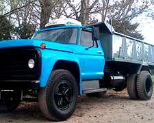 Camion Volcador Ford 7000