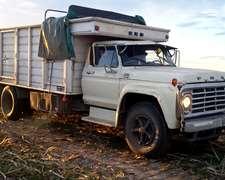 Ford Con 1518 Y Sistema De Tdf Con Hidraulico P/chimango