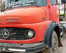 Mercedes Benz 1114 Motor 1518 Con Batea