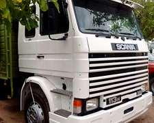 Scania 113 H 320 Frontal Año 94 Con Acoplado Tahno