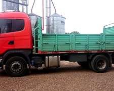 Vendo Camion Scania 380 Modelo 2009 Con Carroceria Hermann