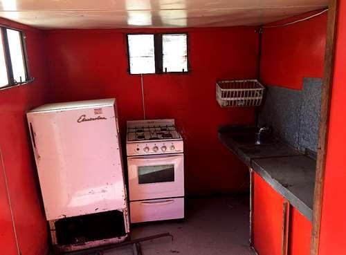 Casilla artemeteal 3 camas con ba o cocina y heladera for Heladera y cocina juntas