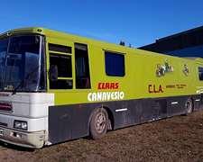 Motor Home Scania 8 Camas