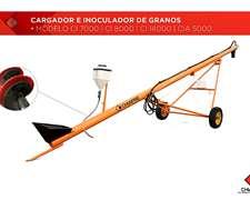 Cargador E Inoculador De Granos - 7 - 8 Y 14 C/cepillo Opc.