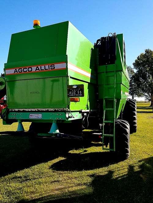 Cosechadora Agco Allis 550e Año 2007 Doble Trac Impecable