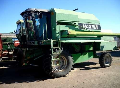 Permuto Deutz Maxima, Sin Motor Con Plataforma 8 Surcos,