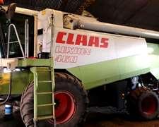 Claas Lexion 460 Año 1999 Reparada