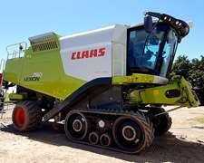 Claas Lexion 750 - Orugas - 1060 Horas.