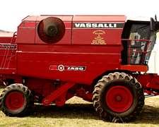 Cosechadora 1550 Vassalli 2008