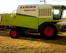 Cosechadora Claas Mega 370