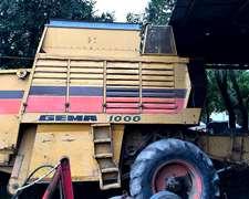 Cosechadora Gema 1000 Con Motor Perkins 354 Fase 2
