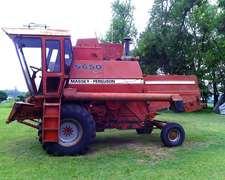 Cosechadora Massey Ferguson Mf 5650 - Año 1992