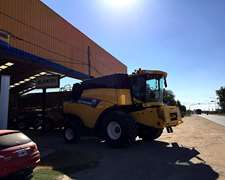 Cosechadora New Holland Cr 6080 Nueva U$s 340.000 C/ 30 Pies
