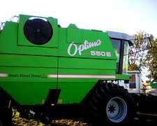 Cosechadora Optima 550 Año 2008 C/2300 Hs. De Motor - Oferta