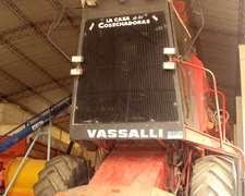 Cosechadora Vasalli Modelo 910 Año 1992 Con 3 Plat