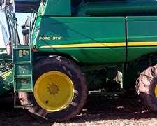 John Deere 9670 2013 Con Draper 635fd