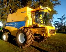 New Holland Cs 660 Super Flow 2010/11 Con 30 Pies 2195 Horas