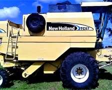 New Holland Tc57/2004 Hp180 Plat 23 Pies Maicero Maizco 8-52