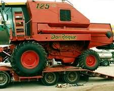 Cosechadora Don Roque 125 - 1995 / Muy Buen Estado Gral.
