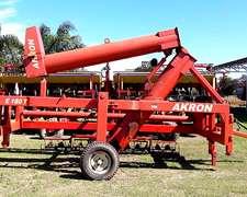 Extractora Akron E 180 T Hidraulica. Sinfines Cementados