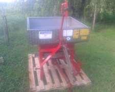 Fertilizadora De 3 Puntos Ac Inoxidable Finotto