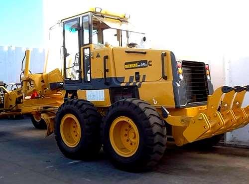 Motoniveladora Michigan 165c. 17 Tn. Cummins 165 Hp. Cab C/a