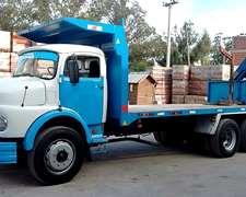 Camion Con Hidrogrua Mercedes Benz 1114 (id426)